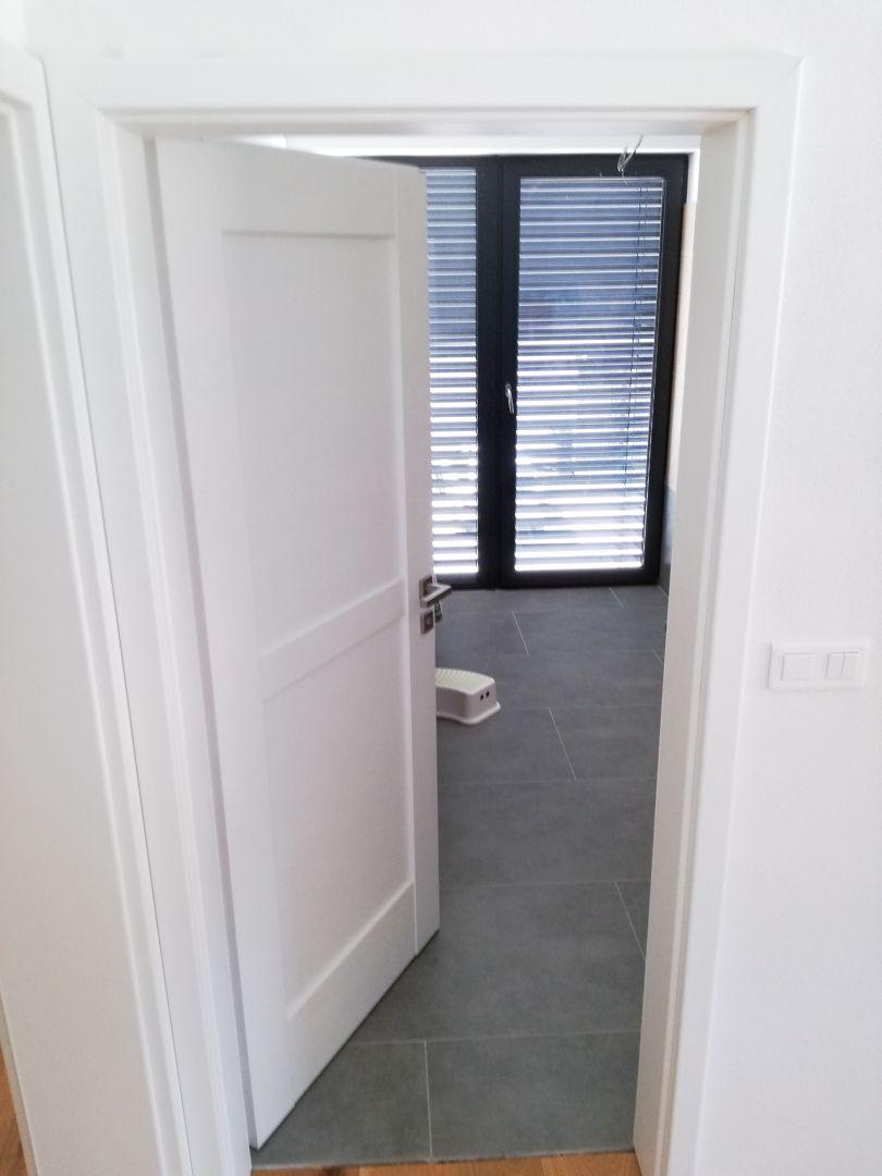 Rámové interiérové dvere Atvyn – Biela Premium W1000 ST22