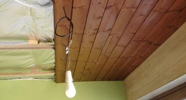 Obklad stropu – TERMOBOROVICA, olej natural
