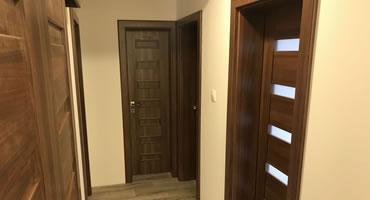 Dvere rámové ATVYN, Typ P-1, P-3, dekór Orech Aida Tabakvý H3704 ST 15