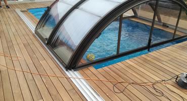 Drevená terasa IPE - montáž na skrutky zhora