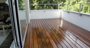 Drevená terasa IPE – montáž CLIP