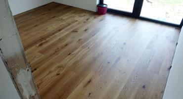 Kliková drevená podlaha