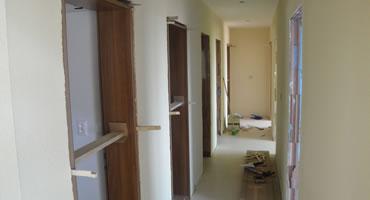 Interiérové dvere – ATVYN, model B-1, dekór Orech prírodný H3703 ST15, sklo Matelux