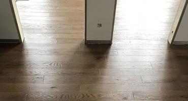 Masívna dubová vrstvená podlaha, kolekcia PROVENCE DUB Coal