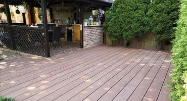 WPC Woodplastic terasové dosky – Forest MAX dekór Palisander