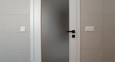 Bezfalcové dvere Hörmann – biely lak RAL 9016
