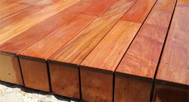 Drevená terasa z IPE – montáž na skrutky zhora