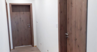 Dvere Hormann Baseline – Duradecor Tmavý dub