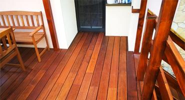 Exotické drevo Merbau – clip systém (neviditeľný spoj)