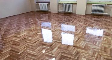 Montáž novej drevenej podlahy – do školskej triedy