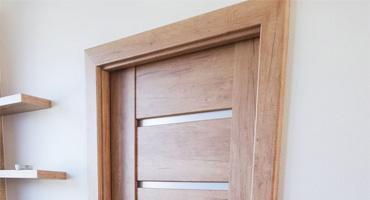 Rámové dvere CPL Dub Nebrasak prírodný