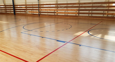 Renovácia športovej podlahy – ZŠ Nitra
