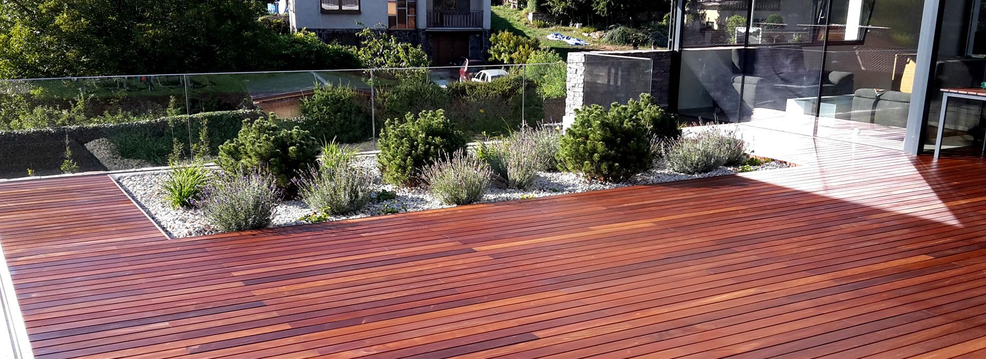 Drevené terasy a fasády